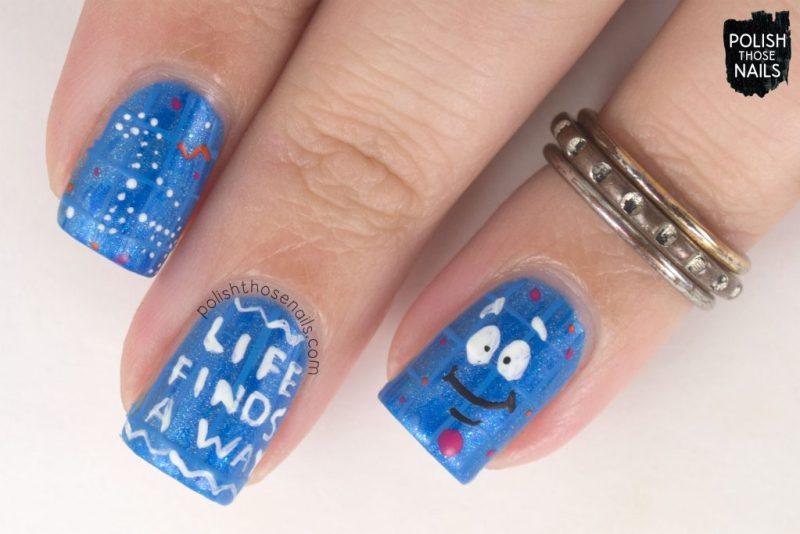 nails, nail art, nail polish, movie, jurassic park, polish those nails,