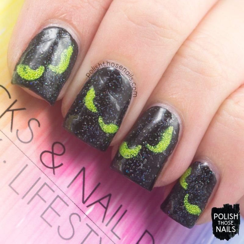 nails, nail art, halloween, lipsticks & nail polish, polish those nails, review