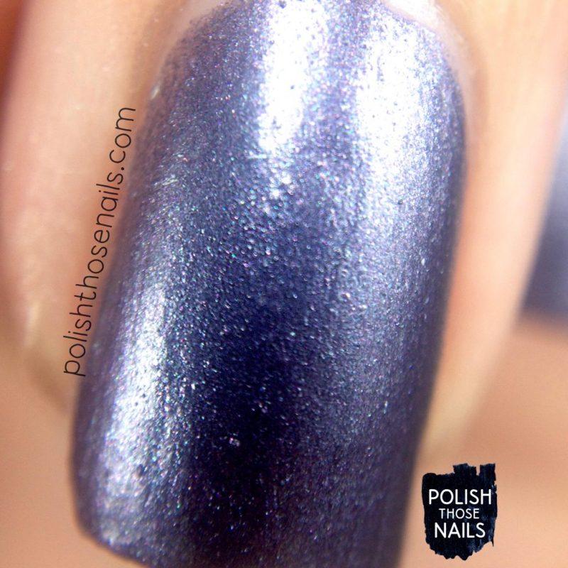 beta, purple, metallic, nails, nail polish, indie polish, parallax polish, polish those nails, stat-ick-tics set, macro