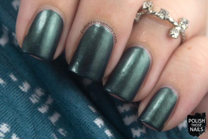 error in your r, green, shimmer, nails, nail polish, indie polish, parallax polish, polish those nails, stat-ick-tics set