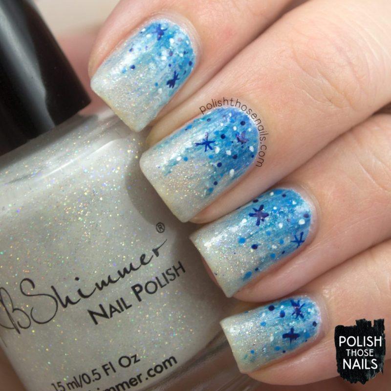 polish those nails, nails, nail art, nail polish, indie polish, winter wonderland,