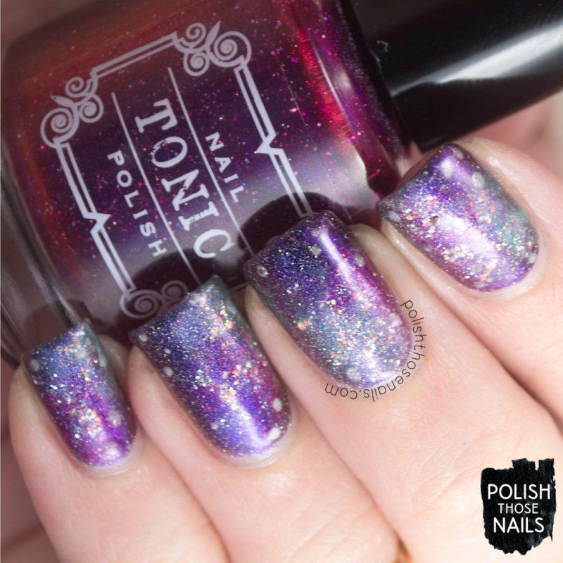 nails, nail art, nail polish, galaxy, polish those nails, indie polish, holo, sparkle