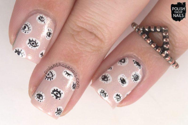 nails, nail art, nail polish, eyes, polish those nails, pink, shimmer,