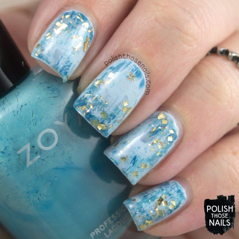 nails, nail art, nail polish, blue, abstract, art, distressed, polish those nails