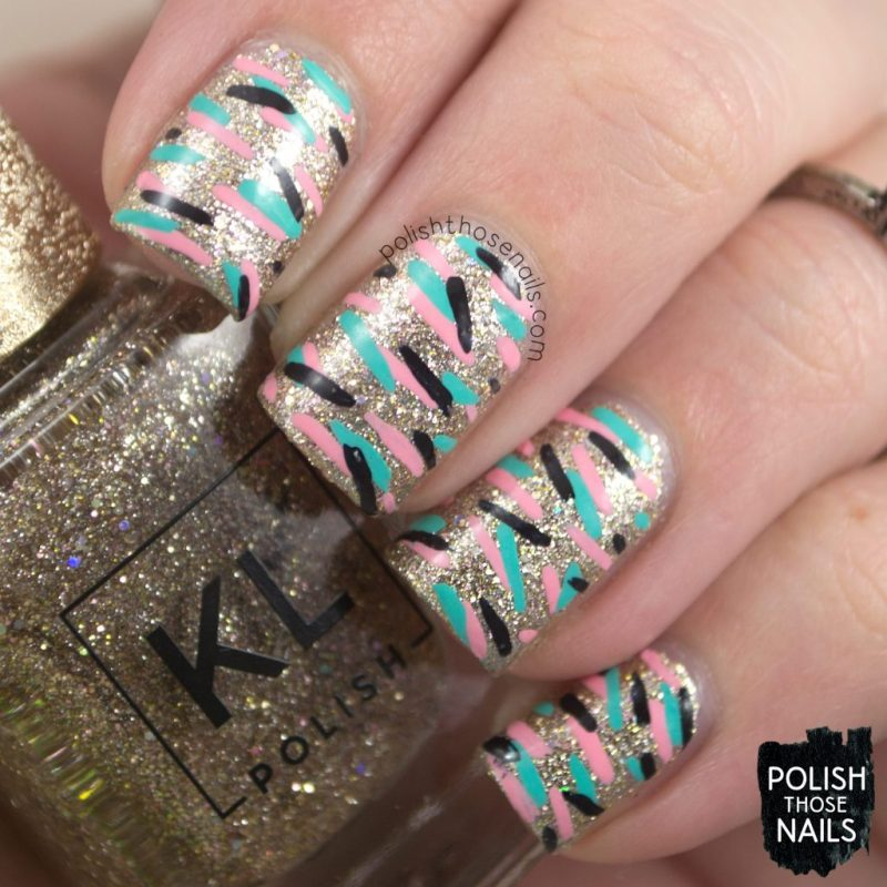 nails, nail art, nail polish, sparkle, kl polish, polish those nails,