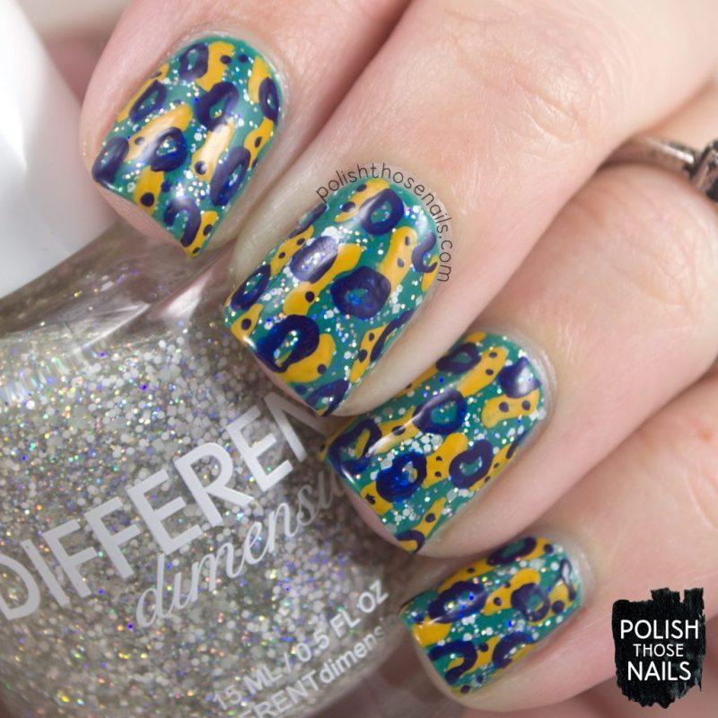 nail art, pattern, nails, nail polish, different dimension, glitter, polish those nails, indie polish