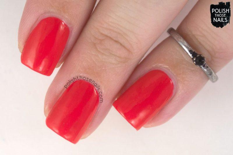 kook a mango, swatch, nails, nail polish, sally hansen, polish those nails, coral