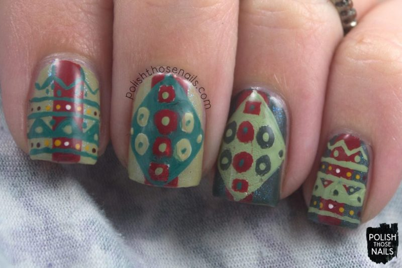 nails, nail art, nail polish, continents, South America, pattern, polish those nails