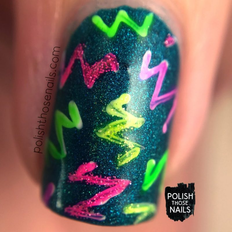 nails, nail art, nail polish, neon, polish those nails, macro