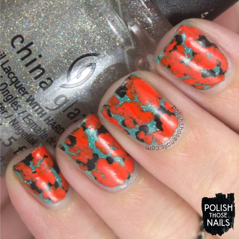 nails, nail art, nail polish, orange, abstract, polish those nails