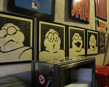 Museo Fisogni, alcune espressioni del Bibendum Michelin