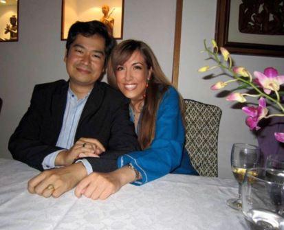 Principessa Irma Capece Minutolo e SAR Ravivaddhana Sisowath Ambasciatore della Casa Reale di Cambogia (Foto d'archivio)
