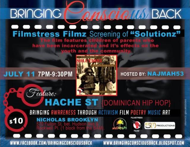 Bringing Conscious Back event flyer