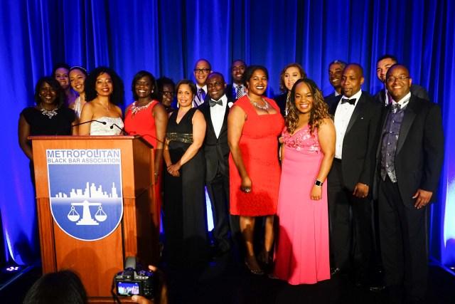 Board Members of the Metropolitan Black Bar Association, 2016 Gala Image Credit: DosOjosMedia.com
