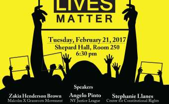 Black Studies Program Present Black Lives Matter Discussion- February 21st