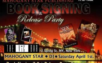 Mahogany Star Book Signing April 1st
