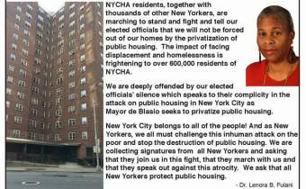 Defend Public Housing- Rally June 24th