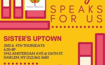 Poetry Workshop At Sister's Uptown Bookstore 2 Nights A Month