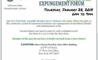 Expungement Forum
