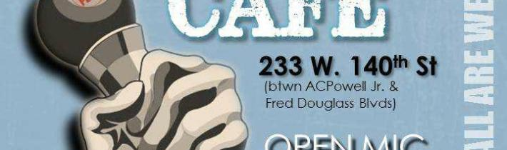 Peace Cafe Open Mic Today!