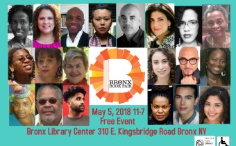 Save The Date: Saturday, May 5th-Bronx Book Fair 2018