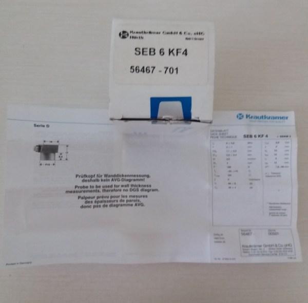 Преобразователь SEB 6 KF4 Krautkramer
