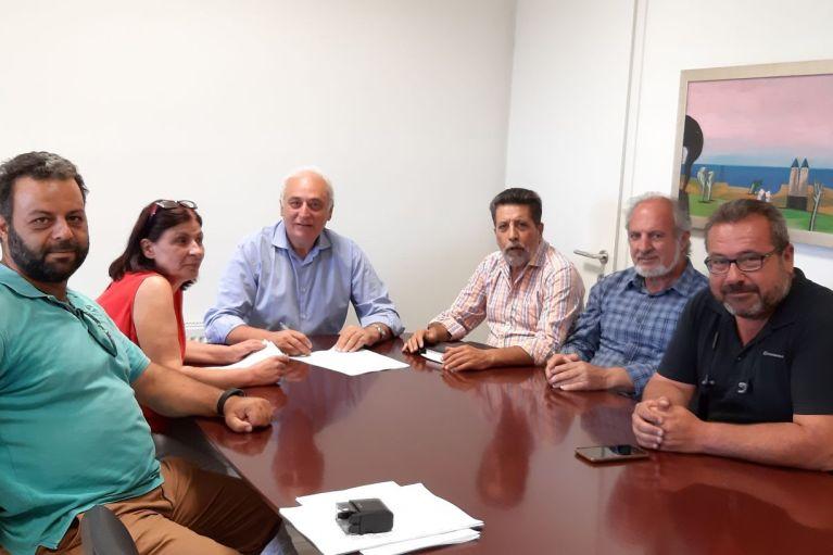 Σύνδεση αποχετευτικού δικτύου Κοινότητας Συκολόγου με την μονάδα επεξεργασίας λυμάτων βιολογικού καθαρισμού