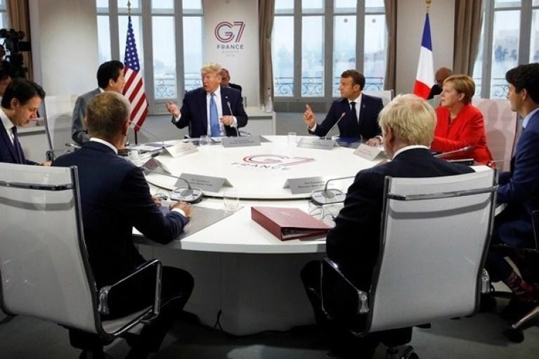 G7: Οι ΗΠΑ και η Ιαπωνία κατέληξαν σε μια «κατ'αρχήν» εμπορική συμφωνία