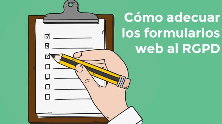 Cómo confeccionar las cajas de suscripción y los formularios, según el RGPD