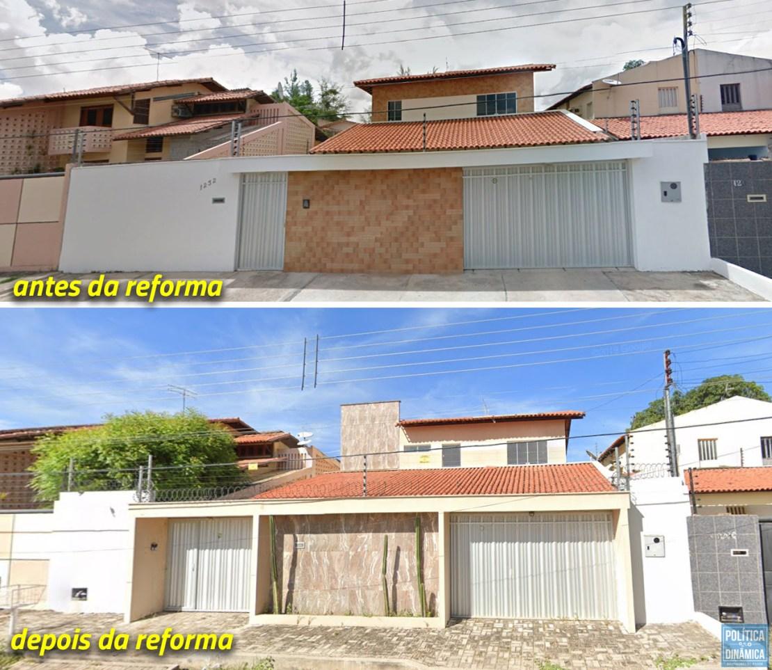 Uma casa de R$ 850 mil e uma reforma de R$ 152 mil; só nesse imóvel, propina superou a marca de R$ 1 milhão de reais (imagem: Fonte no Gabinete de Rejane em Brasília)