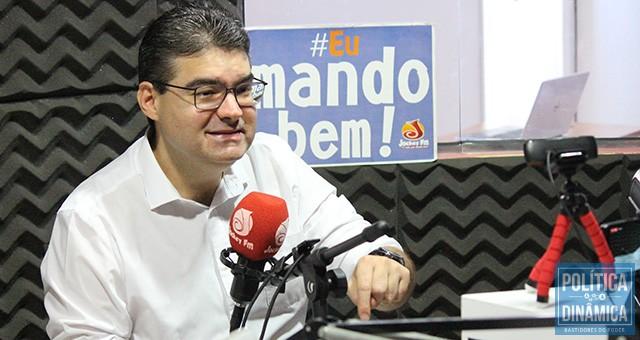 Luciano atingiu a casa dos dois dígitos e também mostra reação de sua candidatura ao governo do Estado (foto: Jailson Soares | politicaDInamica.com)