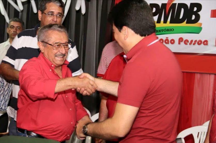 ÁUDIO: José Maranhão confirma Manoel Júnior como candidato ao Senado em sua chapa