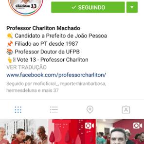 Perfil de Charliton