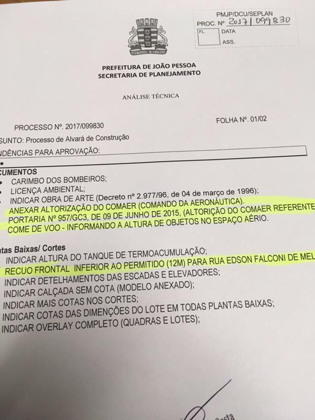 Grupo Ferreira Costa protocola na Prefeitura novo projeto para construção de empreendimento na Capital