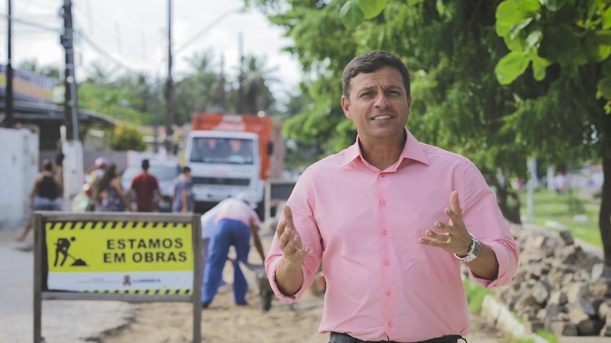 Vitor Hugo vai entrar na disputa pela Prefeitura de Cabedelo em eleição complementar