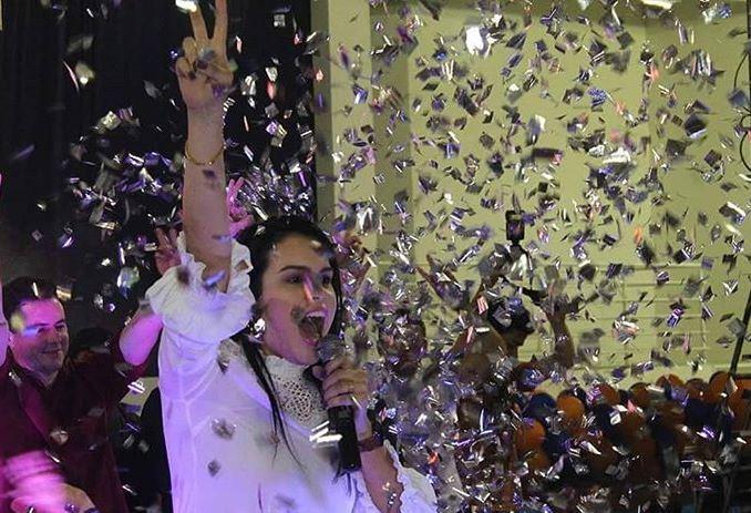 Samu participa de lançamento de pré-candidatura de vereadora filha do prefeito na Paraíba