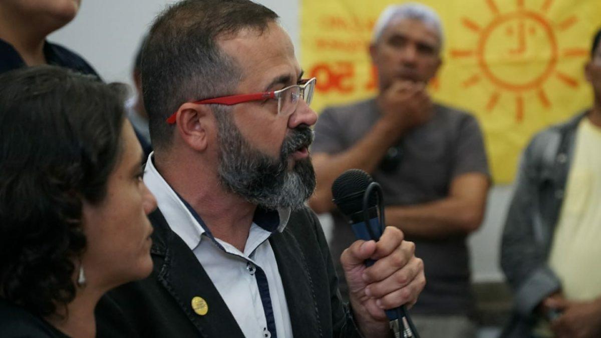 Psol é o primeiro partido a definir candidatos na PB e indica Tárcio para o Governo