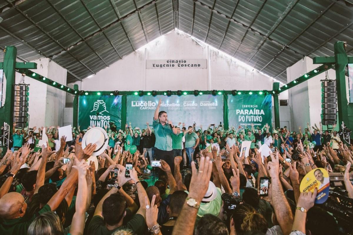 Na convenção, Cássio frustra adversários ao mirar no respeito ao eleitor e na construção de uma Paraíba melhor para todos
