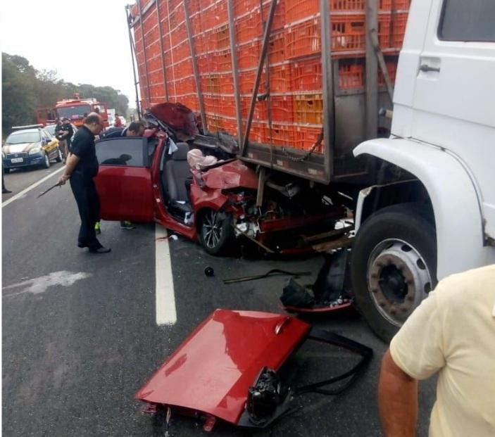 Presidente da Câmara de Sapé morre em acidente de carro na BR-230