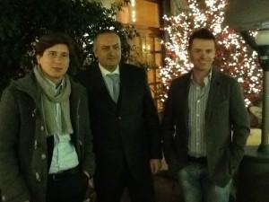 Paolo Pane, Giuseppe Vittoria e Massimo Coppola (NCD)