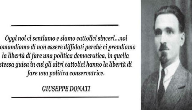 Giuseppe Donati: il fascismo, la Chiesa, i clericomoderati diventati clericofascisti