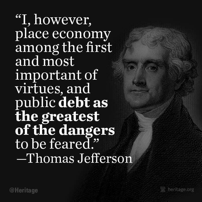 debt as the greatest of the dangers  Debt as the Greatest of the Dangers