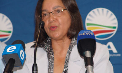 Patricia de Lille denies she made a deal with the Democratic Alliance