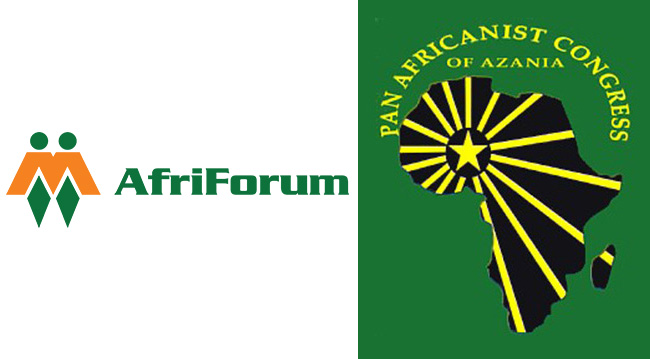 There is a place for white people in South Africa - AfriForum and PAC