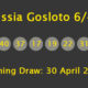 Russia Gosloto Evening Results: 30 April 2018