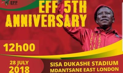 EFF uses 5-year anniversary to woo Eastern Cape voters