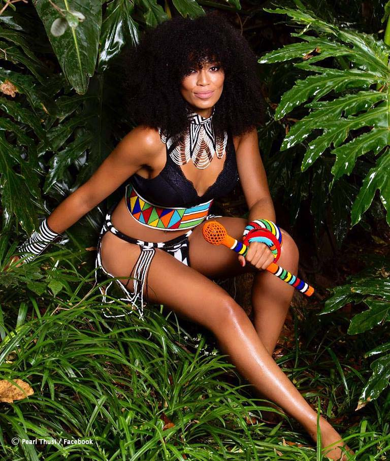 Pearl Thusi is ready to 'Rumble in the Jungle' at Sumo this Friday