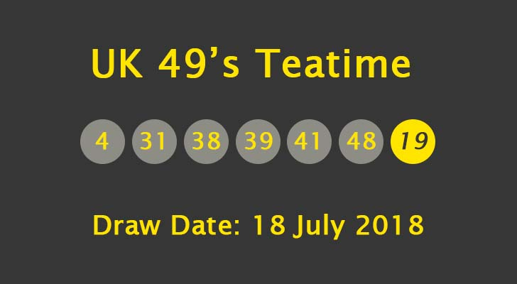 uk lotto booster ball teatime results
