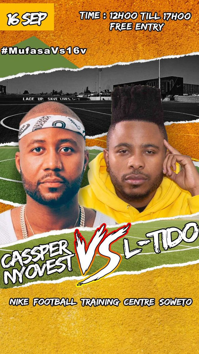 Cassper Nyovest announces the first player for his five-a-side soccer team