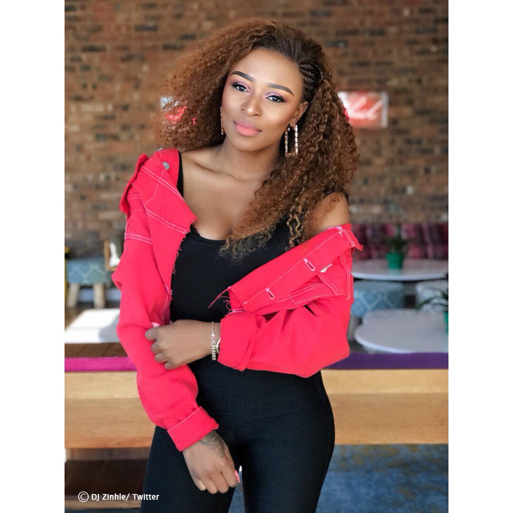 DJ Zinhle and AKA rumoured to be working on a musical collaboration